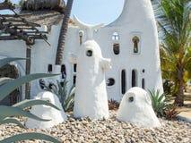 Unusual architecture in Acapulco Stock Images