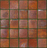 Unusual background. Obtained by photographing the site of the tile wall Stock Image