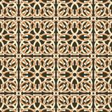 Unusual beautiful abstract seamless pattern of cambered elements Royalty Free Stock Photos