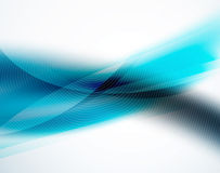 Unusual blur wave abstract background. Modern shiny design Royalty Free Stock Photos