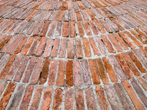 Unusual brick wall texture Royalty Free Stock Photo