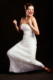 Unusual bride Stock Photo