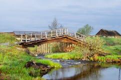 The unusual bridge Stock Image