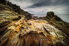 Cap Corse coast Royalty Free Stock Images
