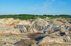 Unusual, colorful landscape Stock Image