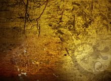 Unusual composite grunge texture Royalty Free Stock Images