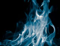 Unusual drawings of smoke on a black background. Unusual drawings of smoke . It`s very beautiful and not ordinary royalty free stock photos