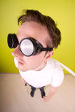 Unusual engineer. Royalty Free Stock Photos