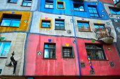 Hundertwasser house Stock Image