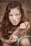 Unusual female portrait Stock Photo