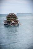 Unusual floating restaurant pub bar Stock Photo