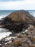 Unusual geology at Giants Causeway Ireland Royalty Free Stock Photography