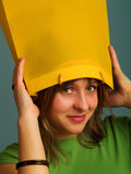 Unusual hat Stock Images