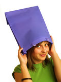 Unusual hat Royalty Free Stock Photography