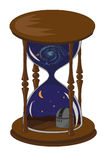 Unusual hourglass Royalty Free Stock Image