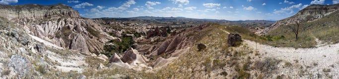 Unusual landscape in Cappadocia Royalty Free Stock Photography