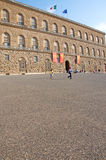Unusual landscape of Palazzo Pitti, Florence, Italy royalty free stock photos