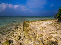 Unusual Maldives stock photo