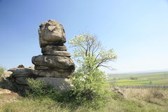 Unusual natural rock formation Royalty Free Stock Images