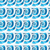 The unusual pattern of spirals Stock Photos