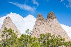 Unusual rock formations in Kasha Katuwe Park, USA Stock Photo