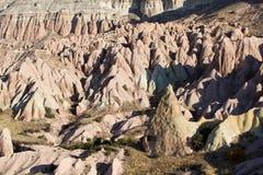 Unusual rocks in Cappadocia Stock Image