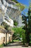Unusual rocks in Sarlat-la-Caneda Stock Images