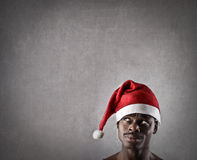 Unusual Santa Claus Royalty Free Stock Photo