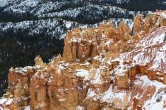 Unusual shape figure Huhu in Bryce Canyon Stock Photo