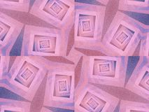 Unusual Textures In Blue Pink Stock Photo