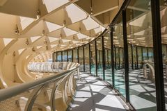 Free Unusual View Inside The Metropol Parasol In Seville, Spain Royalty Free Stock Photos - 135157878