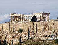 Free Unusual View Of Parthenon Stock Image - 17150951
