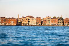 Venice waterfront from Zattere Royalty Free Stock Photo