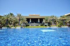 Unusual view of the terrace sheraton shenzhou peninsula resort Stock Photography