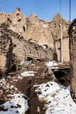 Unusual village Kandovan Stock Photos