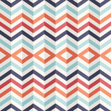 Unusual Vintage 3D Effect Abstract Geometric Pattern.