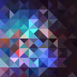 Unusual vintage abstract geometric pattern. Stock Photos