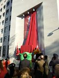 Unveiling at the Canadian Embassy Stock Photo