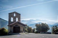 Unveröffentlichte spanische Kapelle Stockbilder