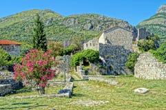 Unvergessliche Ferien in Montenegro Lizenzfreies Stockbild