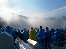 Unvergessliche Sommerreise zu Niagara Falls Stockbilder