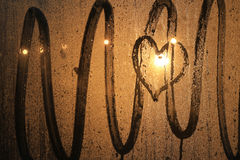 Unvergoltene Liebe Stockbild