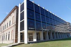 Unversity-Bibliothek von USI, Universita-della Svizzera-italiana, in Lugano, die Schweiz Stockfotos