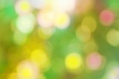 Unverständlicher Hintergrund mit bunten bokeh Effekten Lizenzfreies Stockbild
