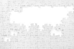 Unvollständiges Puzzlespiel Lizenzfreies Stockfoto