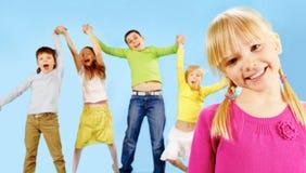 Unvorsichtige Kindheit Lizenzfreies Stockfoto