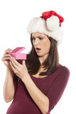 Unwanted christmas gift Royalty Free Stock Image