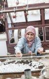 Unweaving di seta Turchia Fotografie Stock Libere da Diritti