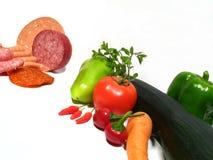 unwholesome zdrowe jedzenie obraz stock