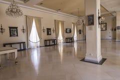 Unwiderstehlicher Fehlschlag am Achilleions-Palast auf der Insel von Korfu Griechenland errichtet von der Kaiserin Elizabeth von  Lizenzfreie Stockfotografie